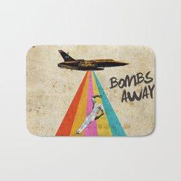 Bombs away! Bath Mat