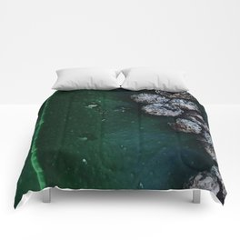 Life On A Leaf Comforters