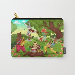 Musicians animals in the wood Carry-All Pouch