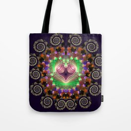 Spirals and stunning patterns Tote Bag