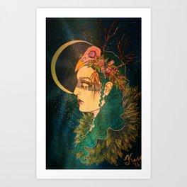 Morrigan: The Phantom Queen Art Print