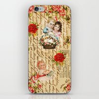 shabby chic iPhone & iPod Skins featuring Shabby Chic by Diego Tirigall