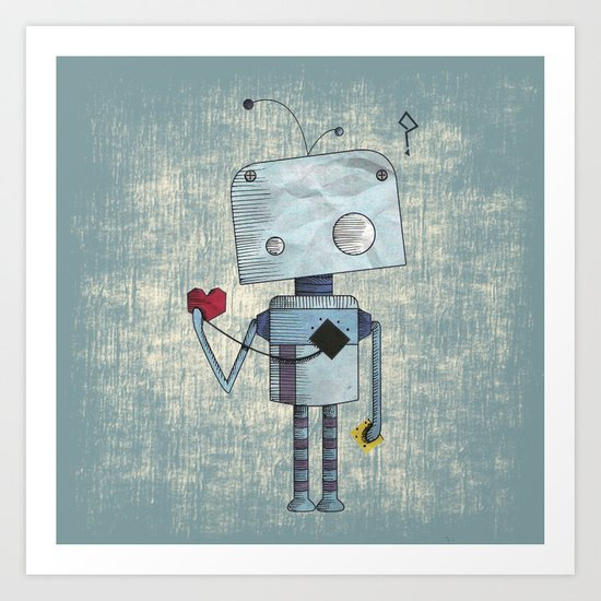 What is love ? Art Print