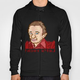!kcor s'teL (Man From Another Place Pixel Art) Hoody