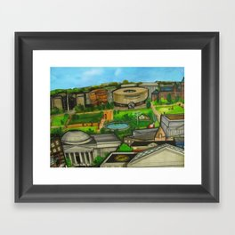The National Mall  Framed Art Print