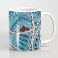 mosaic Mugs featuring mosaic by shannonblue