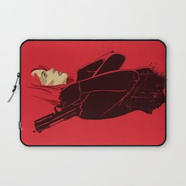 Woman in Red Laptop Sleeve
