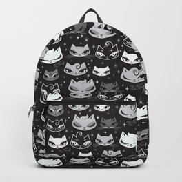 Rockabilly Cats with Pompadours Backpack