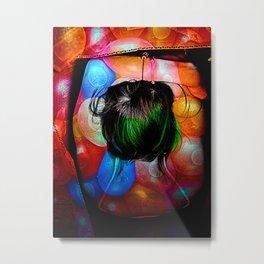 Balloon Girl Metal Print