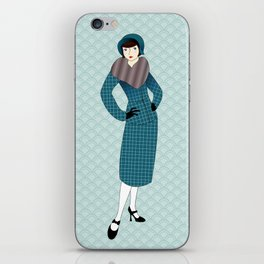 Flapper ready for the new Roaring Twenties! (14) iPhone Skin