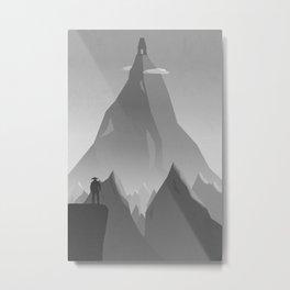 Traveller- dark Metal Print