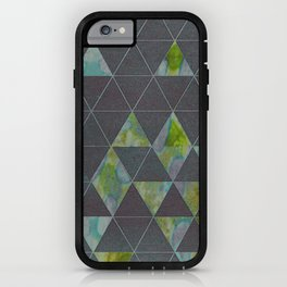 Reverse Triangles iPhone Case