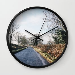 middle of the road in UK Wall Clock