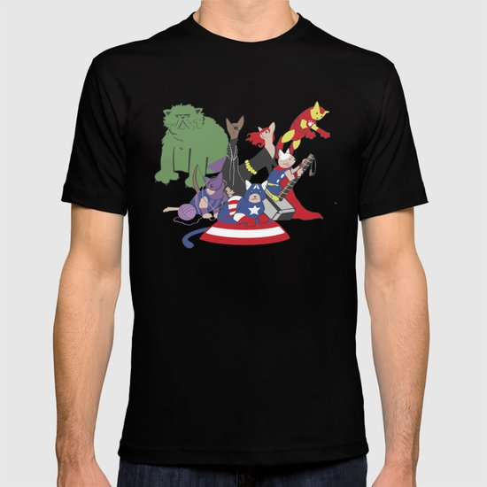 The Catvengers - Earth's Mightiest Kitties T-shirt