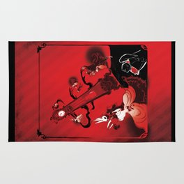 Masque of the Red Death Rug