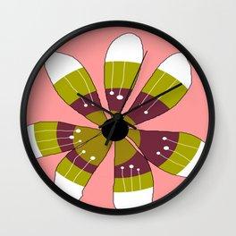 FLOWERY BRITTA  / ORIGINAL DANISH DESIGN bykazandholly Wall Clock
