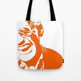 Ray Charles – Orange Tote Bag