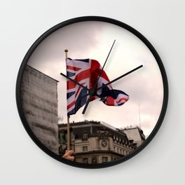Fly The Flag Wall Clock