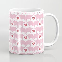 Pink Elephants Coffee Mug