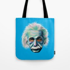 Colorful Einstein Tote Bag