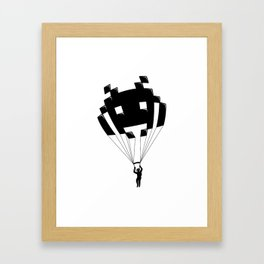 Invader Framed Art Print