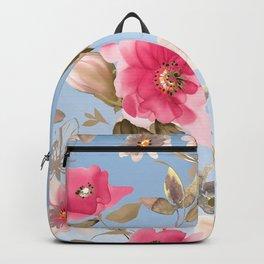 flower watercolor 6 Backpack