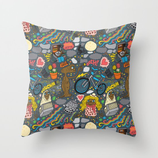 ET! Throw Pillow