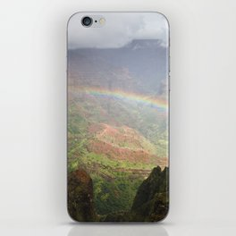 Waimea Canyon Rainbow iPhone Skin