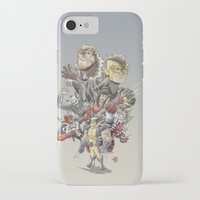 mortal instruments iPhone & iPod Cases featuring Mortal Enemies by Fernando Cano Zapata