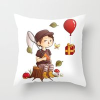 animal crossing Throw Pillows featuring Animal Crossing by MaliceZ
