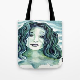 Maybe I'm A Mermaid (Tori Amos inspired art) Tote Bag