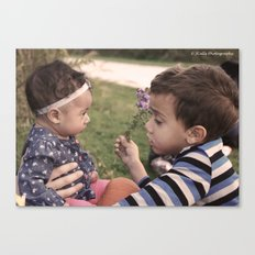 Brother and Sisterly Love Canvas Print