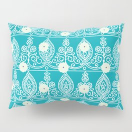 Gypsy Lace in Turquoise Pillow Sham