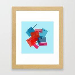 Sitting Dog Framed Art Print