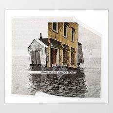 inclination Art Print