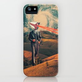 We are Watching You for Your Own Safety iPhone Case