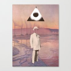 A Gentleman And A Scholar Canvas Print