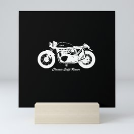 CAFE RACER MOTORCYCLE GIFTS,GIFT WRAPPED FOR CHRISTMAS FOR BIKE ENTHUSIAST Mini Art Print