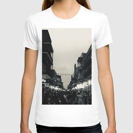 Black & White Bourbon Street T-shirt