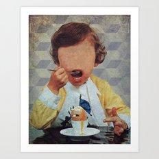 No Face #1 Art Print