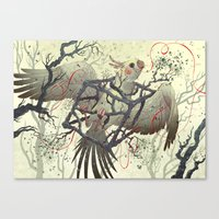 Artificial Habitat Canvas Print