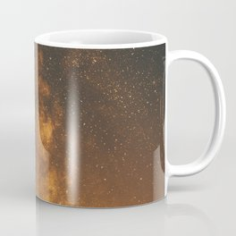 The Milky Way (Forest Landscape Photography, Starry Night Sky Photo) Coffee Mug