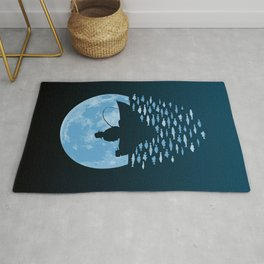 Hooked by Moonlight Rug