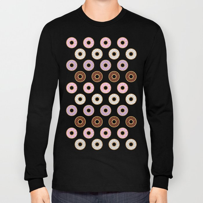 Doughnut Polka Long Sleeve T-shirt