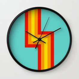 Luchtaine Wall Clock