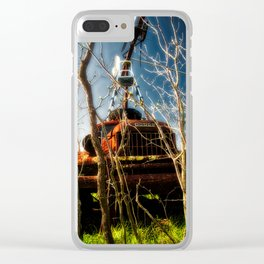In The Trees Clear iPhone Case