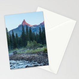 Pilot Peak - Mountain Scenery at Sunrise in Northeastern Yellowstone Stationery Cards