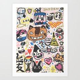 Pop Swag Art Print