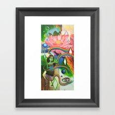 Luau Framed Art Print