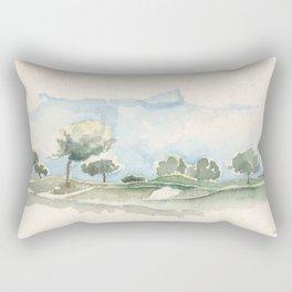 Golf Camp Rectangular Pillow